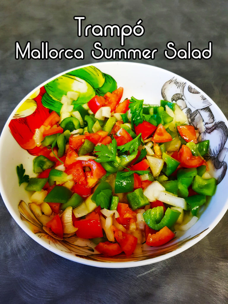 Trampo Mallorca Summer Salad - One Epic Road Trip Blog