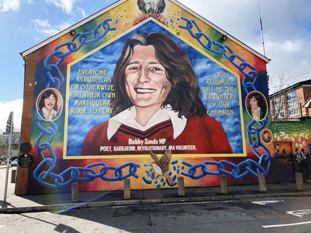 Bobby Sands MP Belfast Murials - One Epic Road Trip Blog