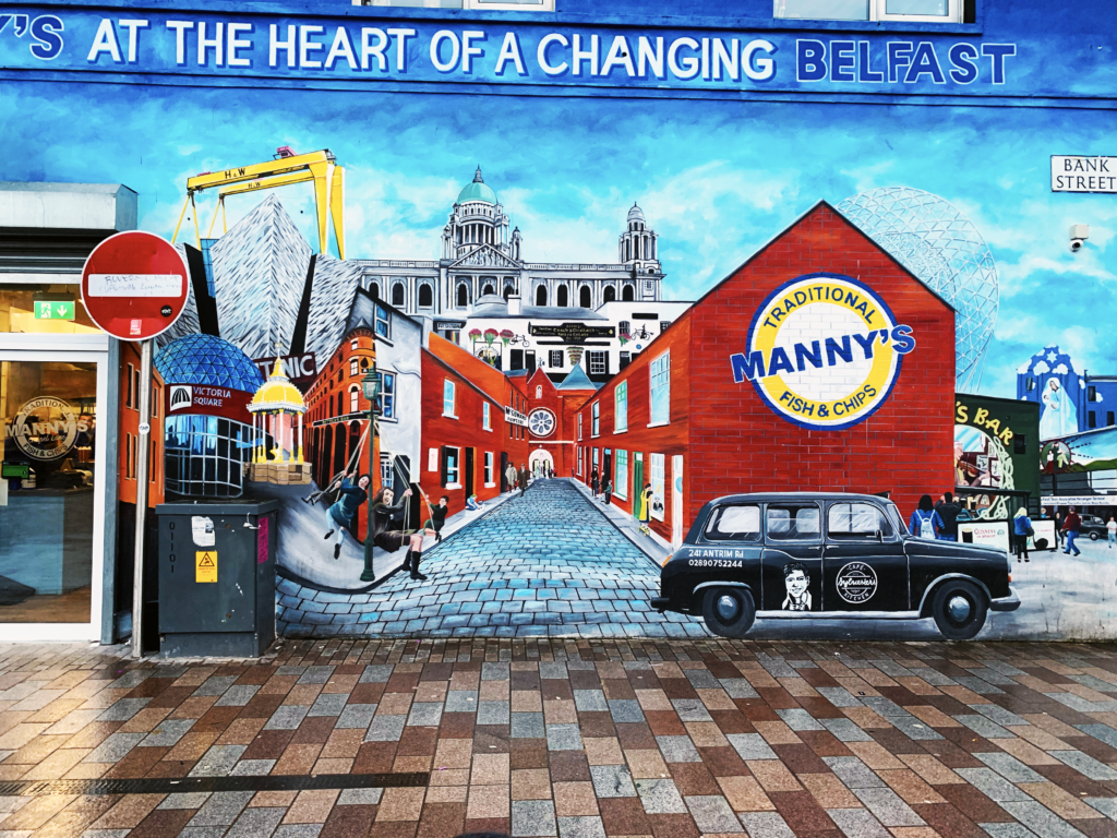 Mannys Belfast - One Epic Road Trip Blog