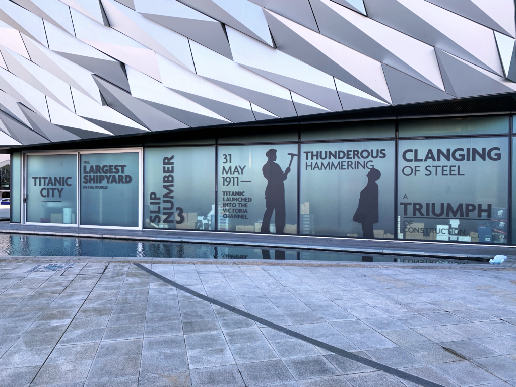 Titanic Belfast Exhibit venue - One Epic Road Trip