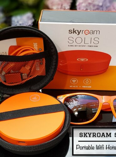Skyroam Solis Review; Portable Wifi Hotspot