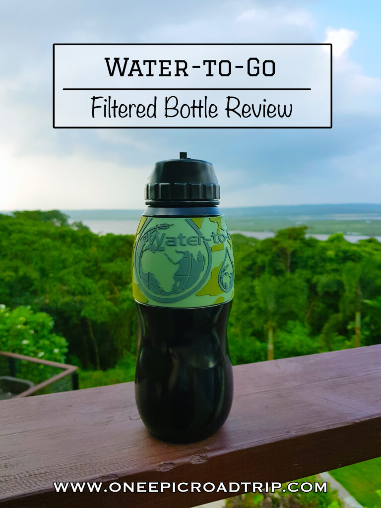 Water to Go Filtered Bottle Review - One Epic Road Trip