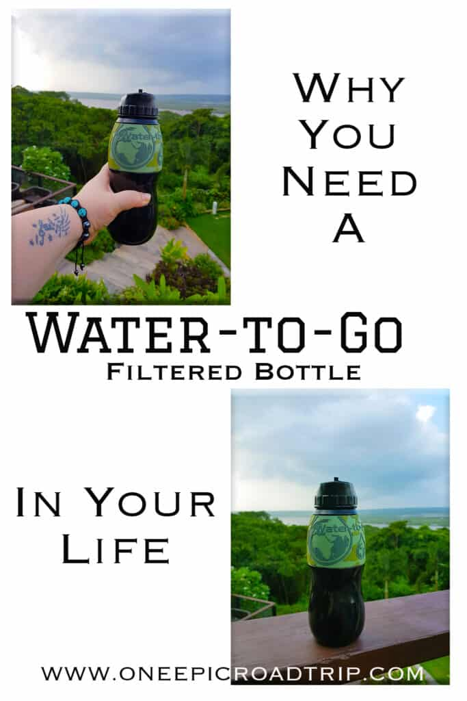 Water to Go Filtered Bottle Review - one epic road Trip - P2