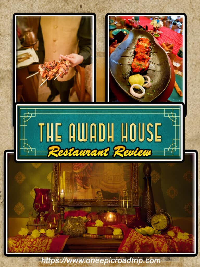 The Awadh House Restaurant - One Epic Road Trip blog
