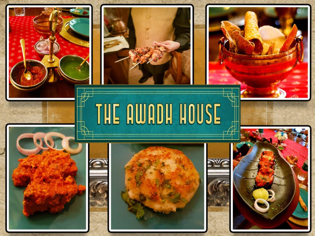 The Awadh House Restaurant food - One Epic Road Trip Blog