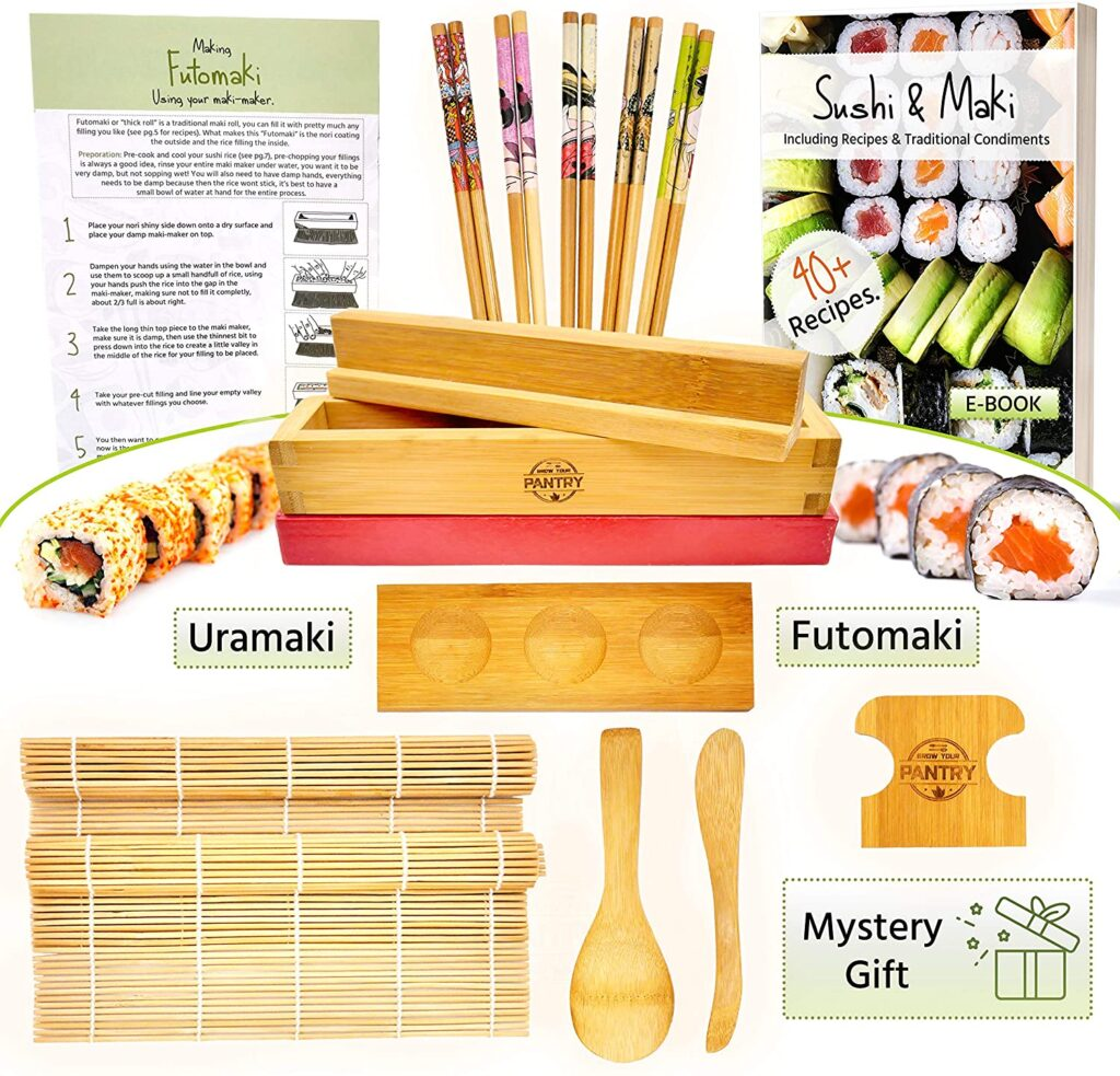 Sushi and Maki Making Kit from Grow Your Pantry