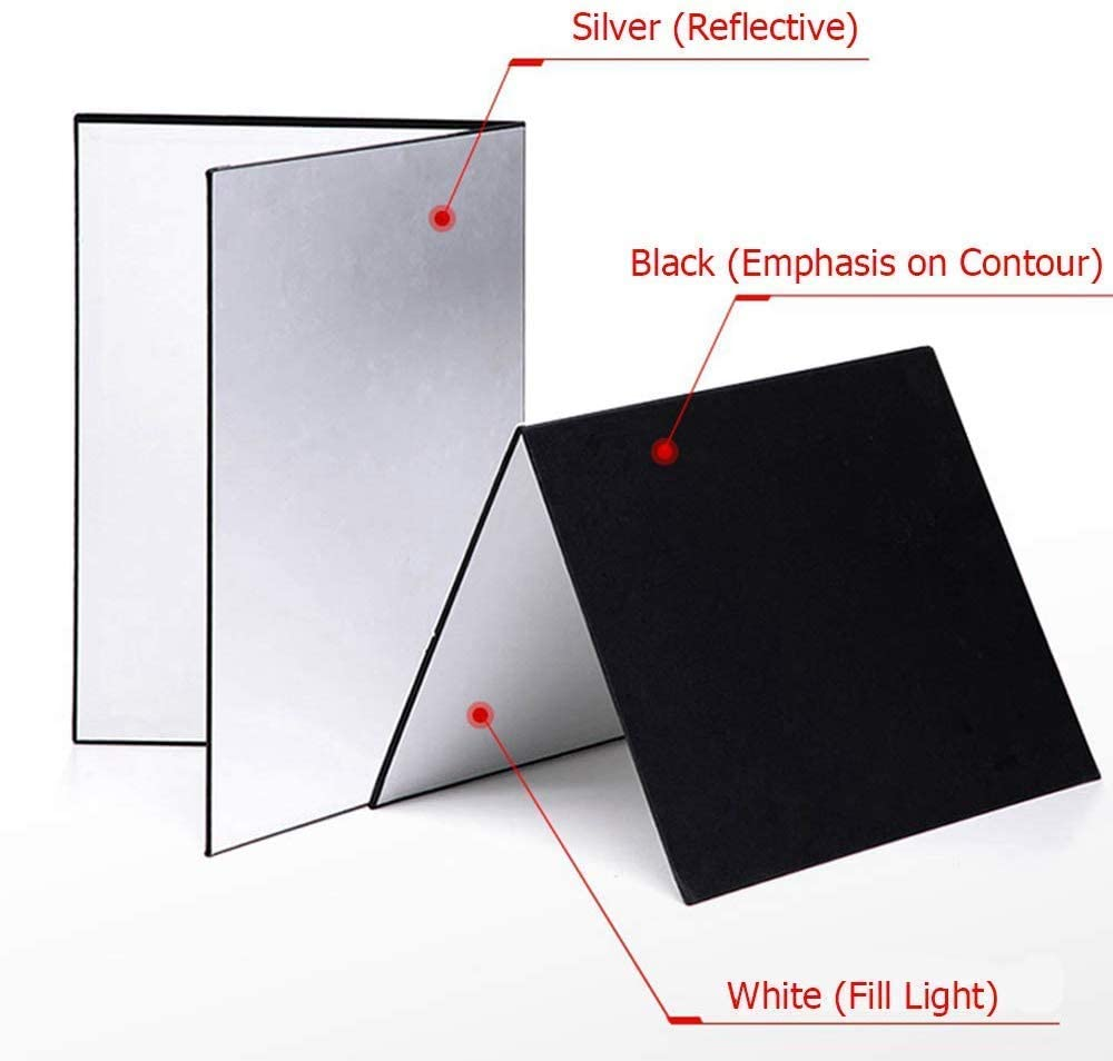 Selens Light Reflector Cardboard Foldable Photography