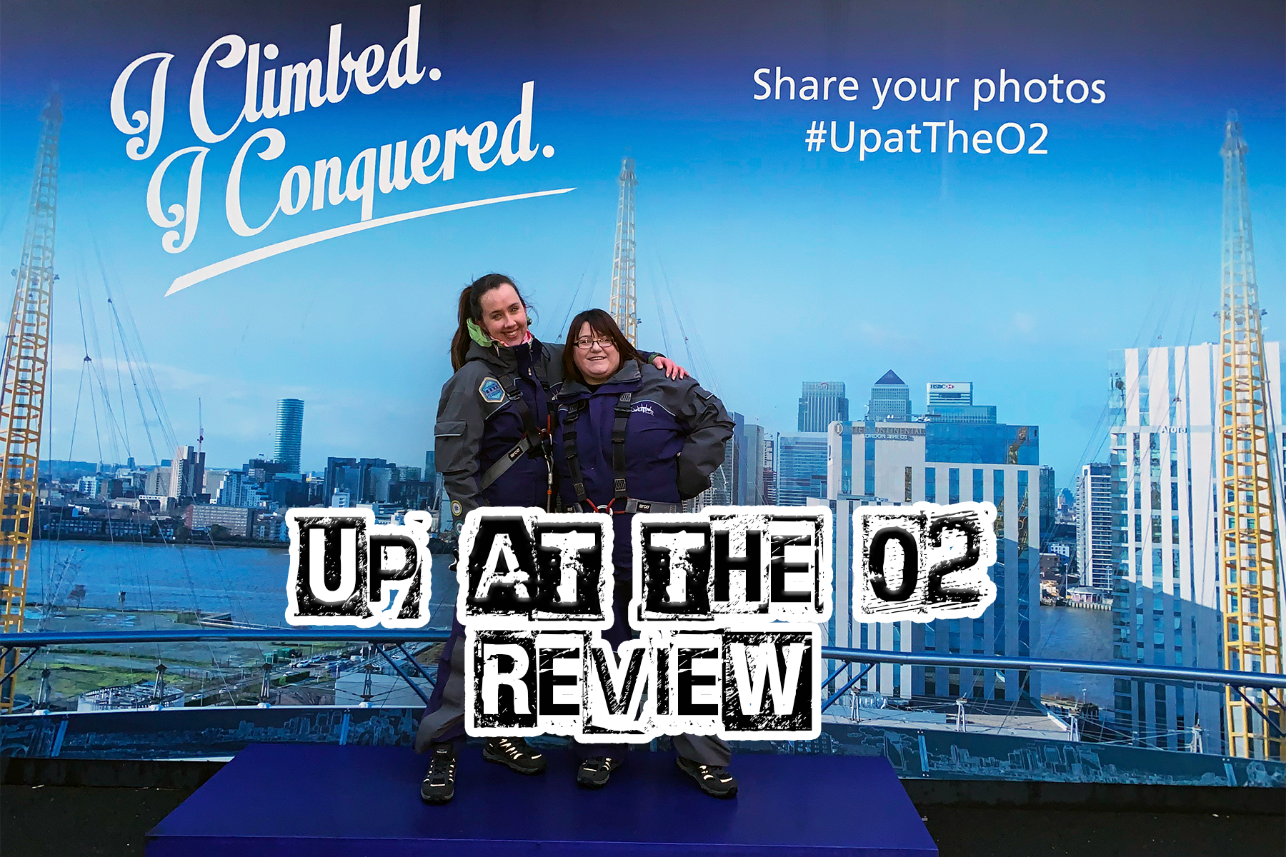 Up at the O2 Review -one epic road trip