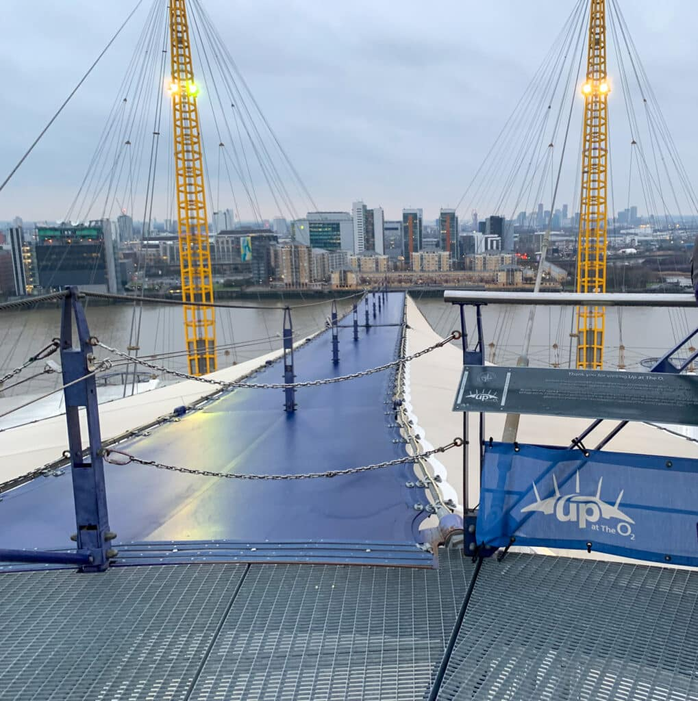 the o2 entrance-1-one epic road trip blog