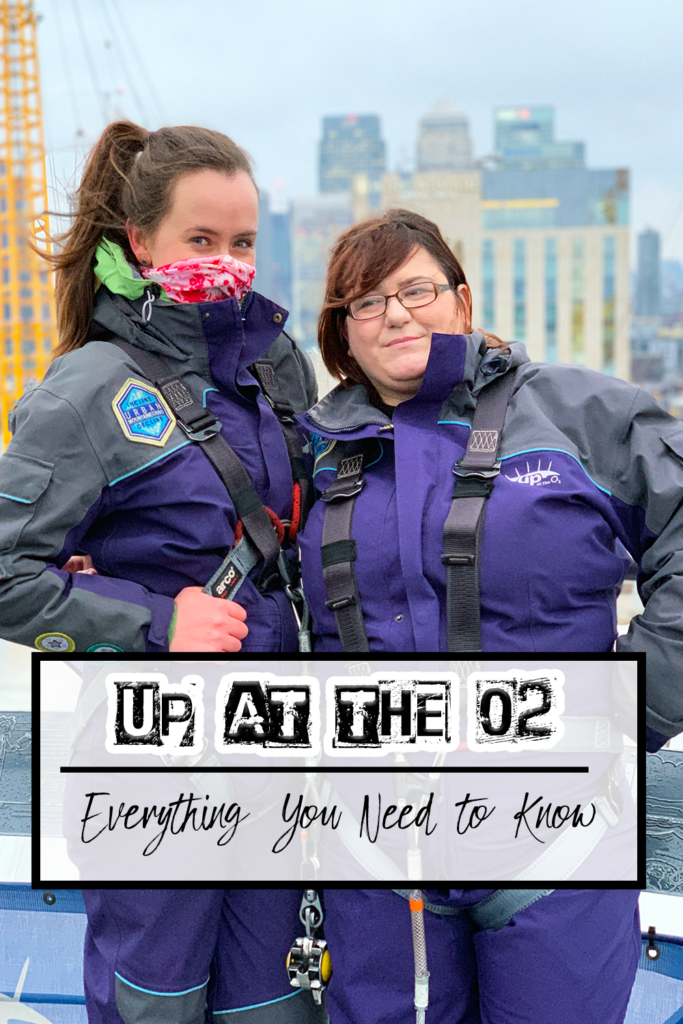 up at the o2 pin -one epic road trip blog