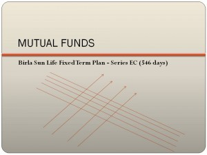 Birla Sun Life Fixed Term Plan - Series EC (546 days) NFO