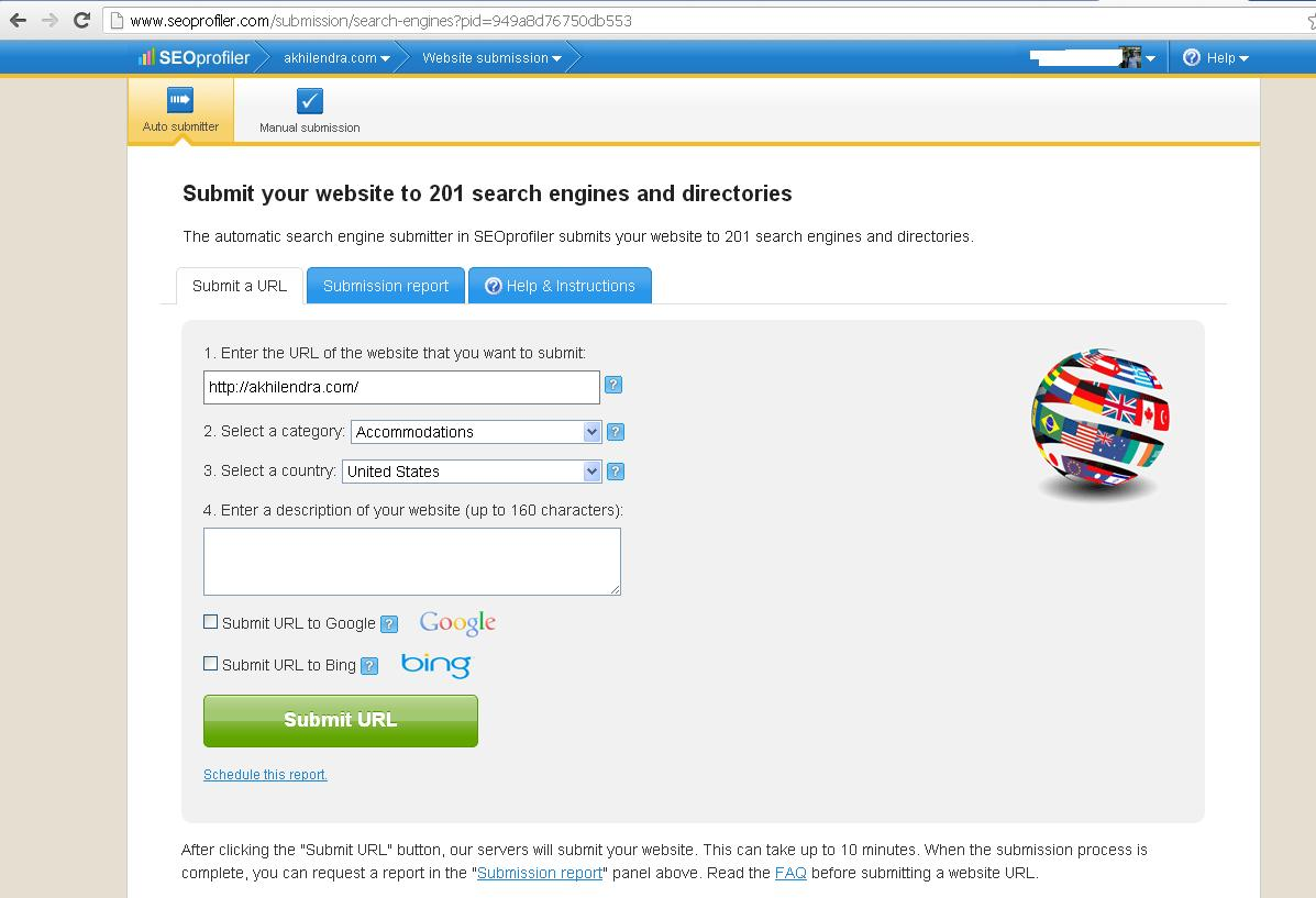 seoprofiler submit to search engines