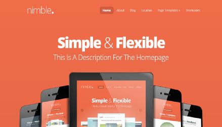 nimble wordpress ecommerce theme