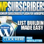 subscribe plugin wordpress - wpsubscribers