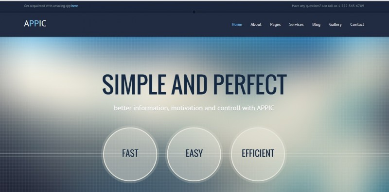 Appic - Business & Technology website Template