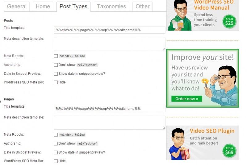 custom post title settings in wp seo by yoast