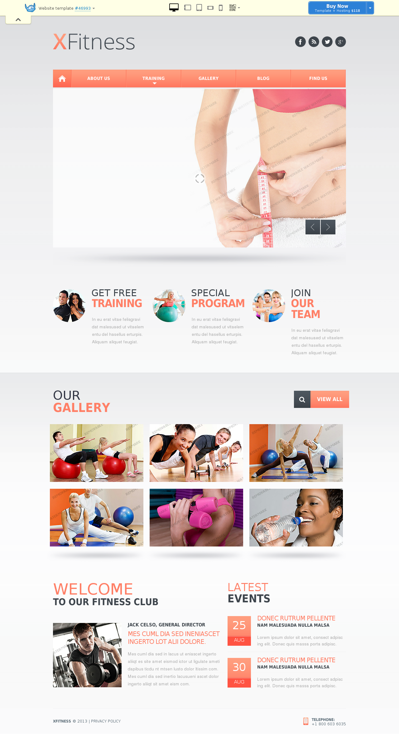 Website template # 46993
