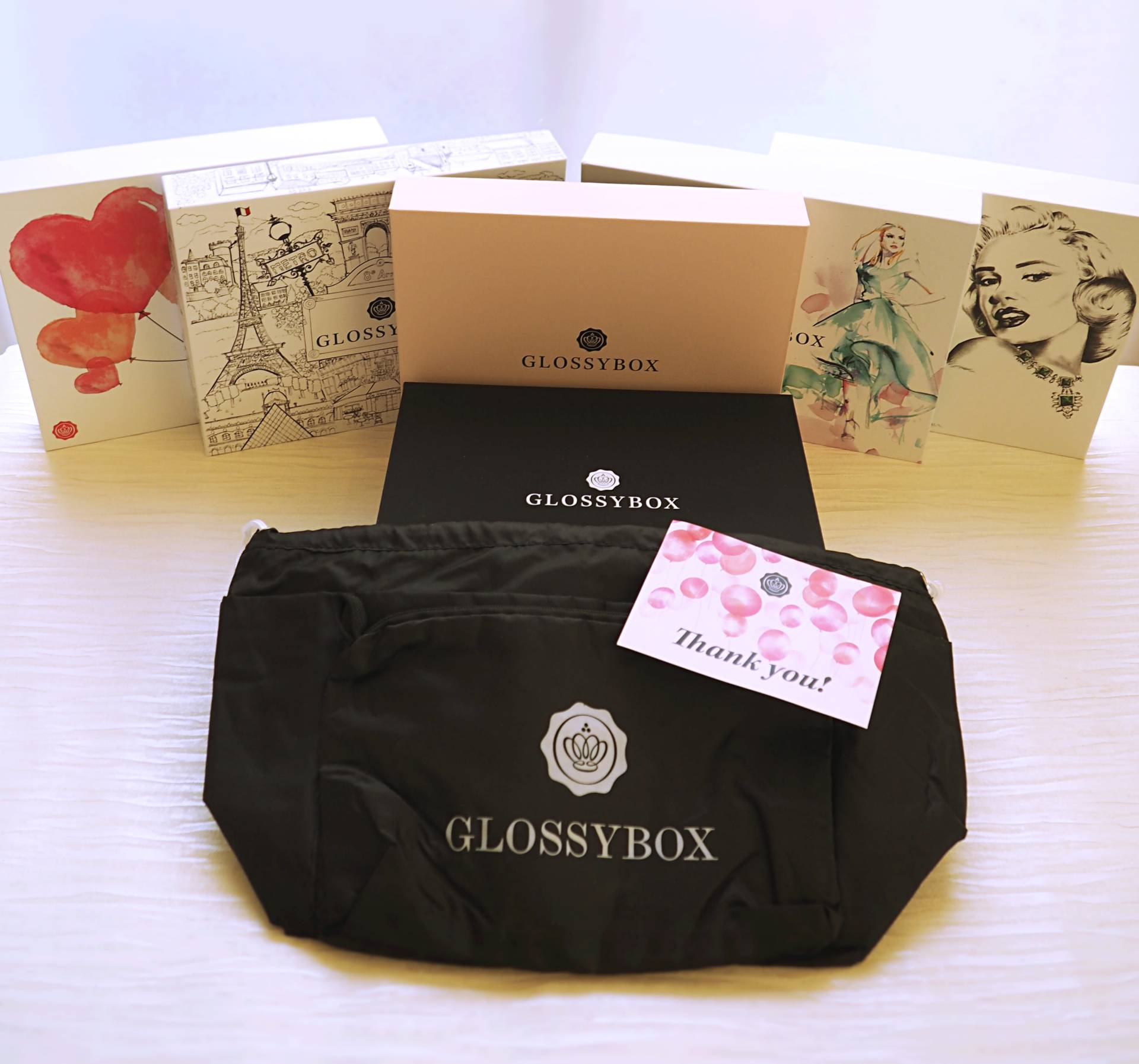 Glossybox Review – A Year with Glossybox