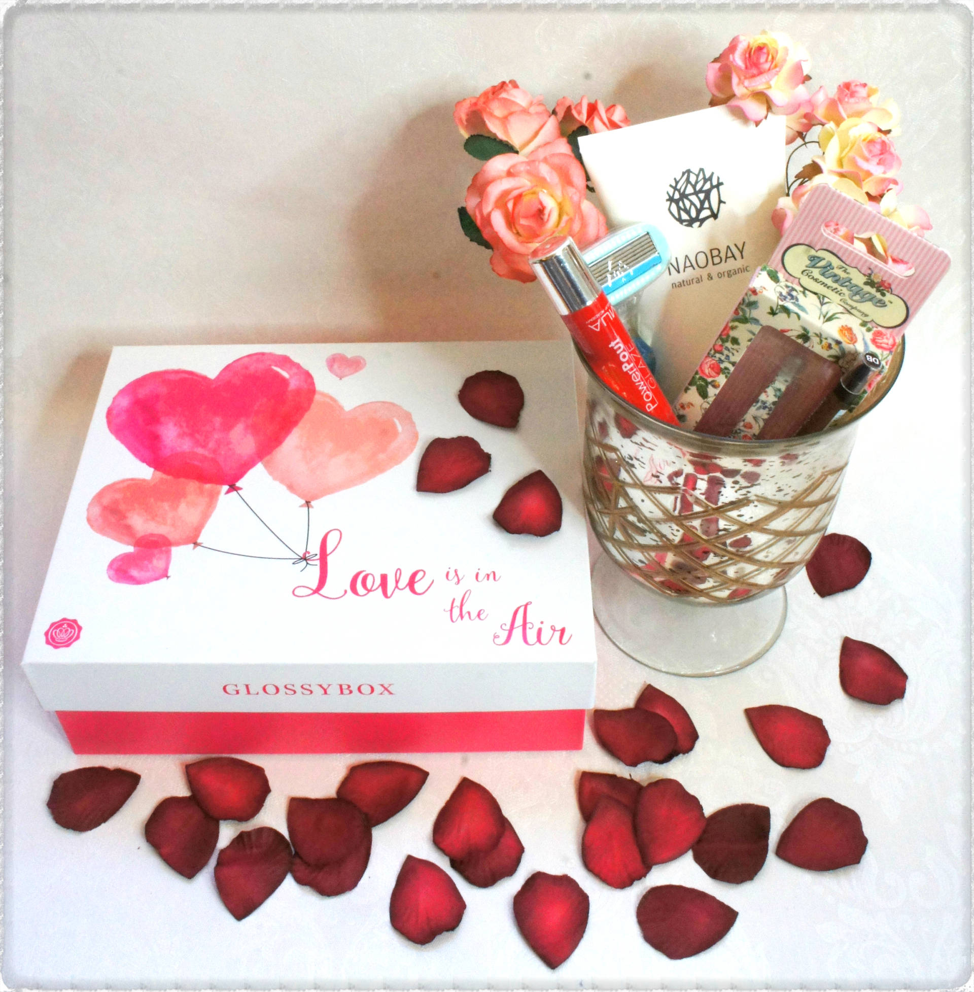 Glossybox February Love Is In The Air Box Review
