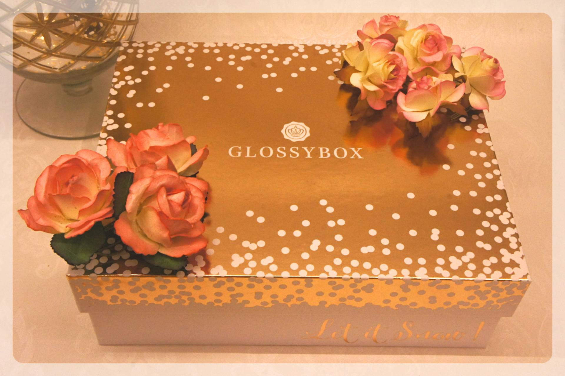 Glossybox December Rose Gold Box Review