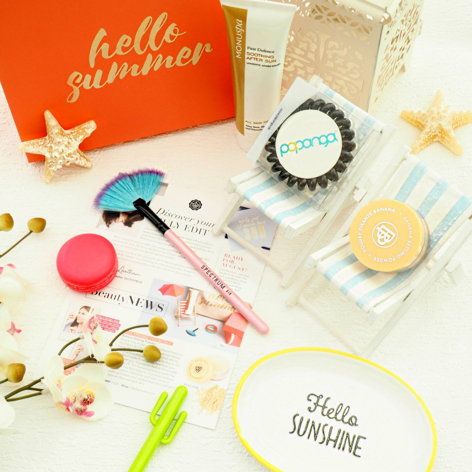 Glossybox July 2017 Review Hello Summer
