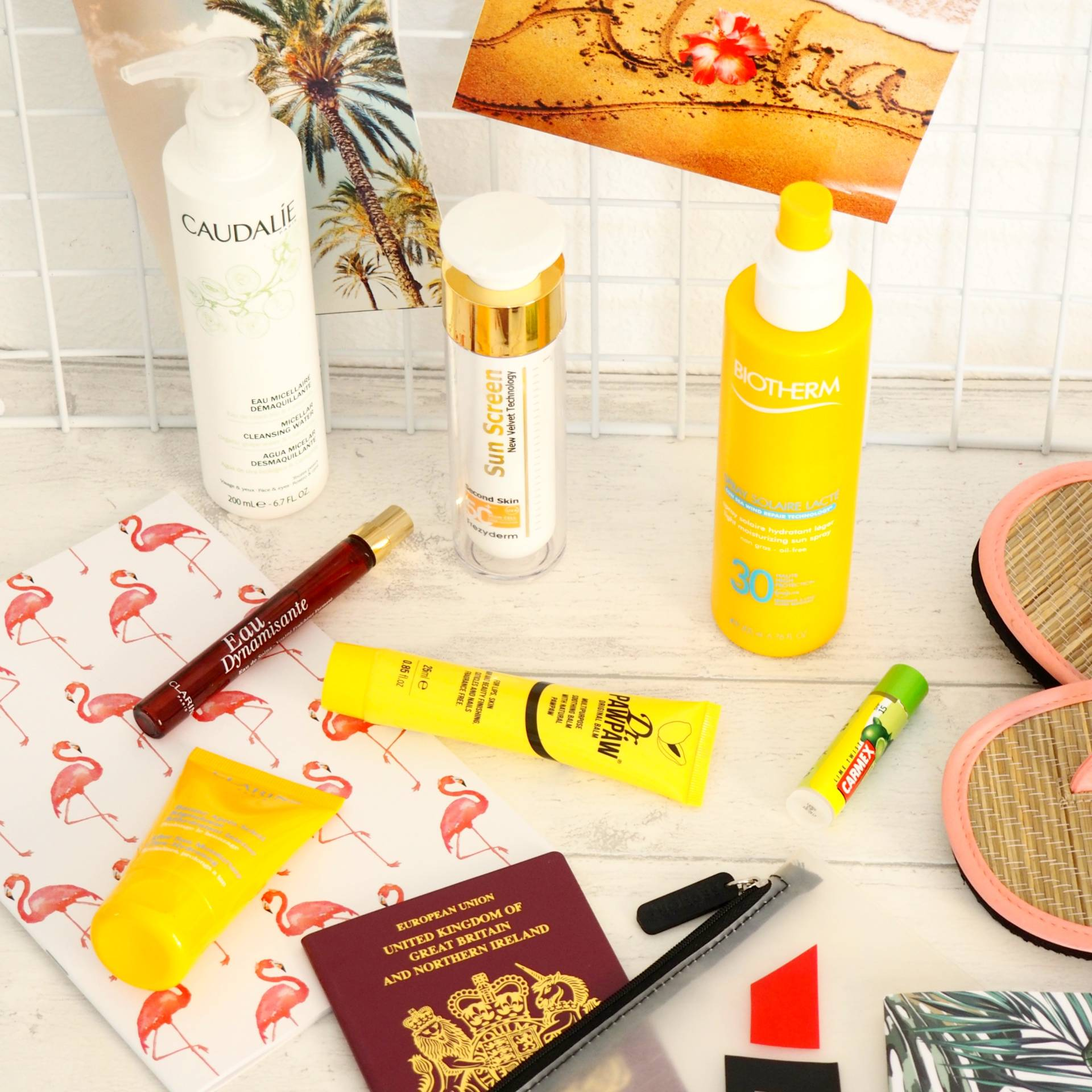 My Late Summer Getaway Skincare Essentials