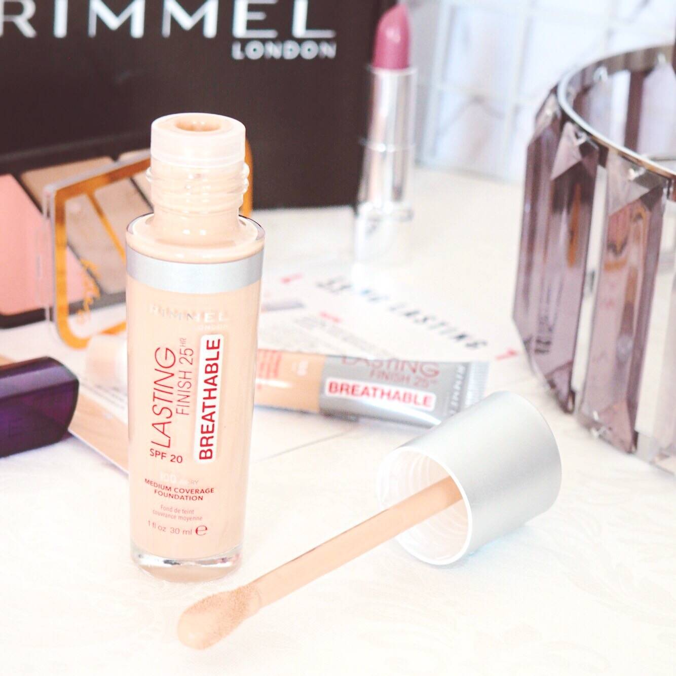 Rimmel Long Lasting Breathable Foundation