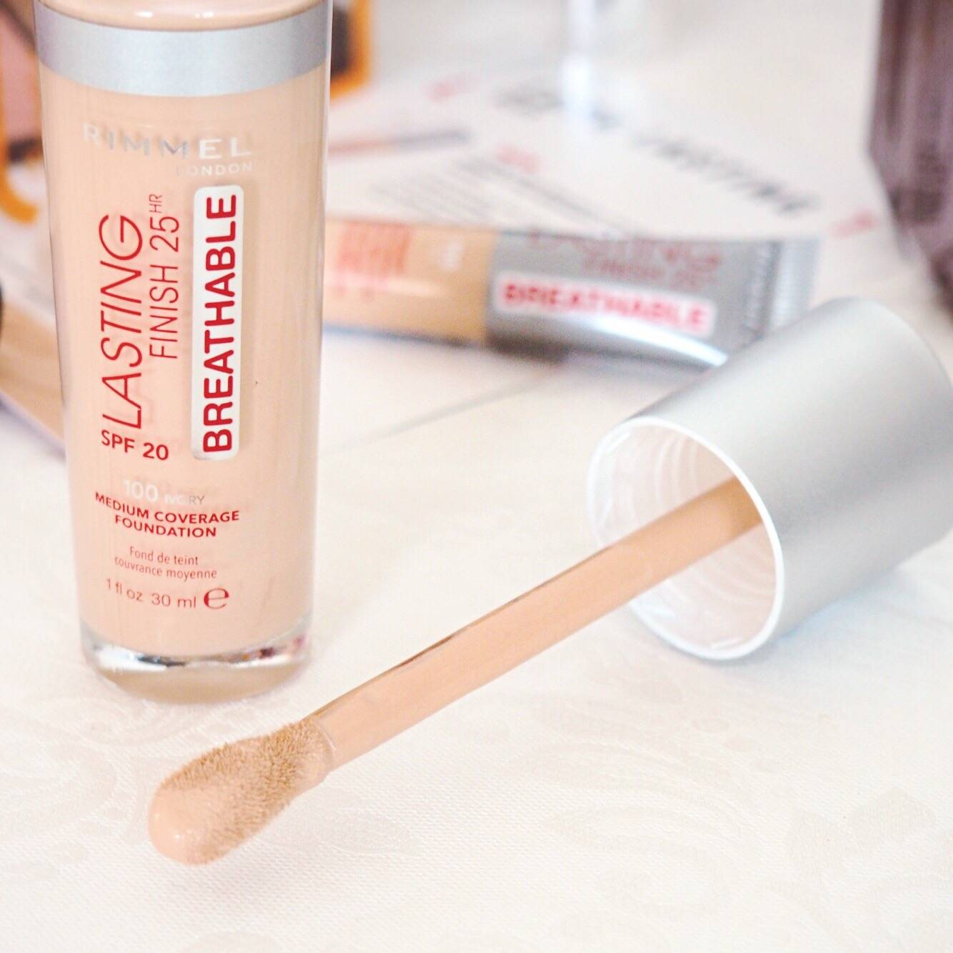 Rimmel London Long Lasting Breathable Foundation Review
