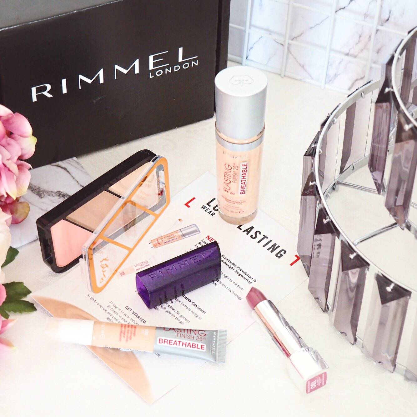 Rimmel London Long Lasting Breathable Foundation & Concealer Review