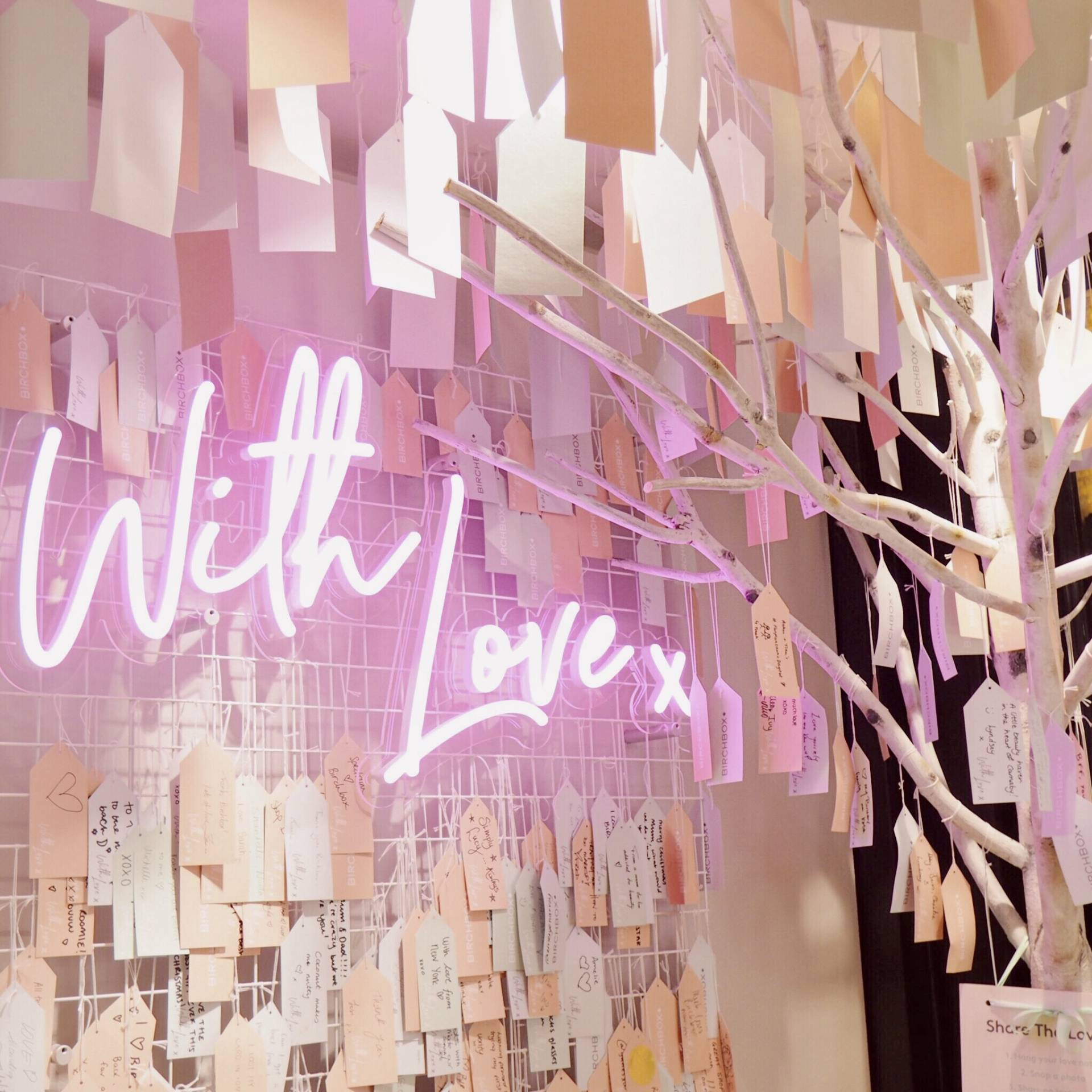 Birchbox PopUp Shop London – Build Your Own Birchbox