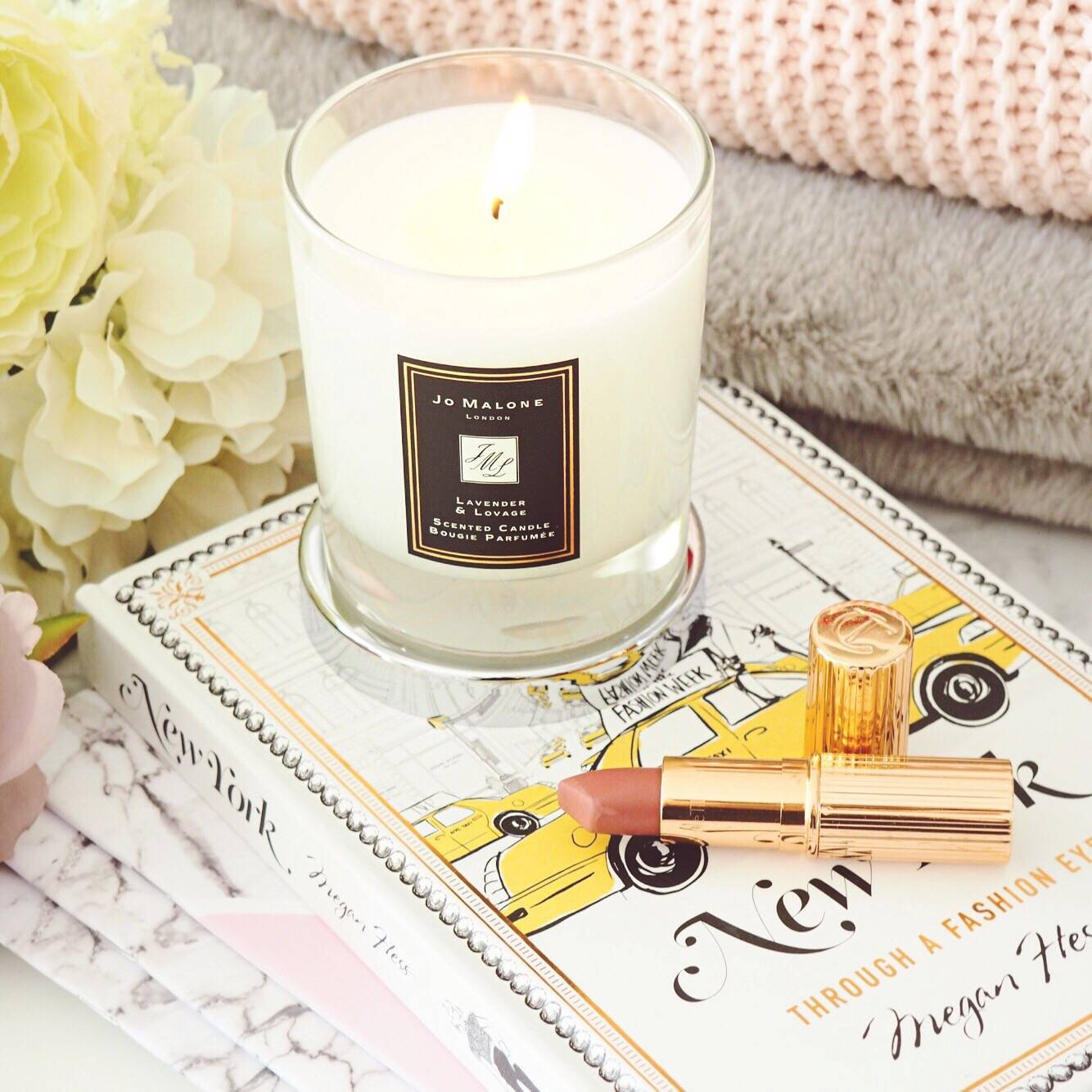 Jo Malone Lavender and Lovage Candle