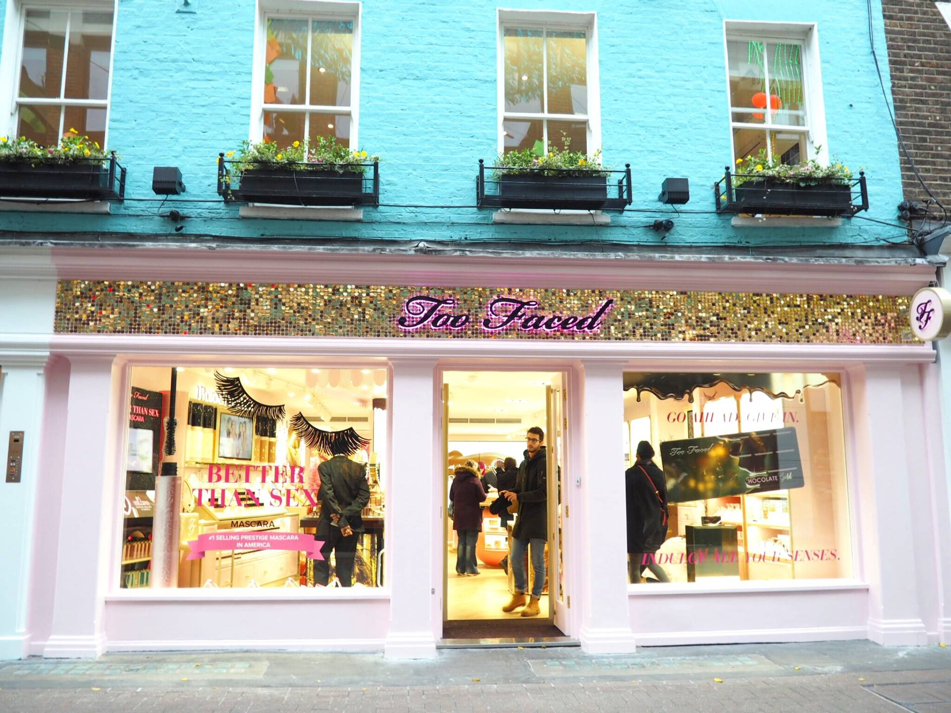 Too Faced London Store Carnaby Street