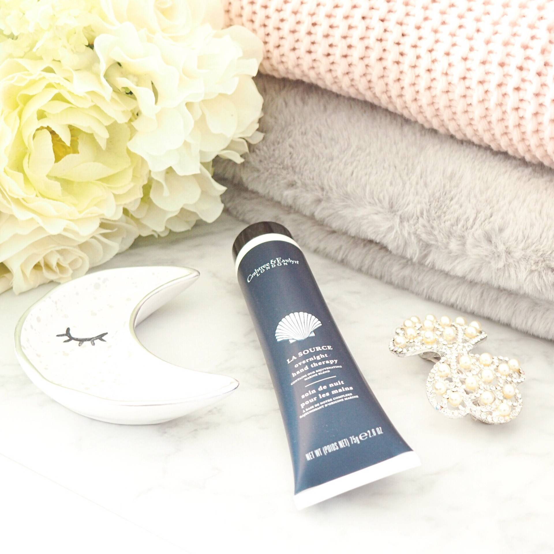 Crabtree and Evelyn Overnight Hand Therapy