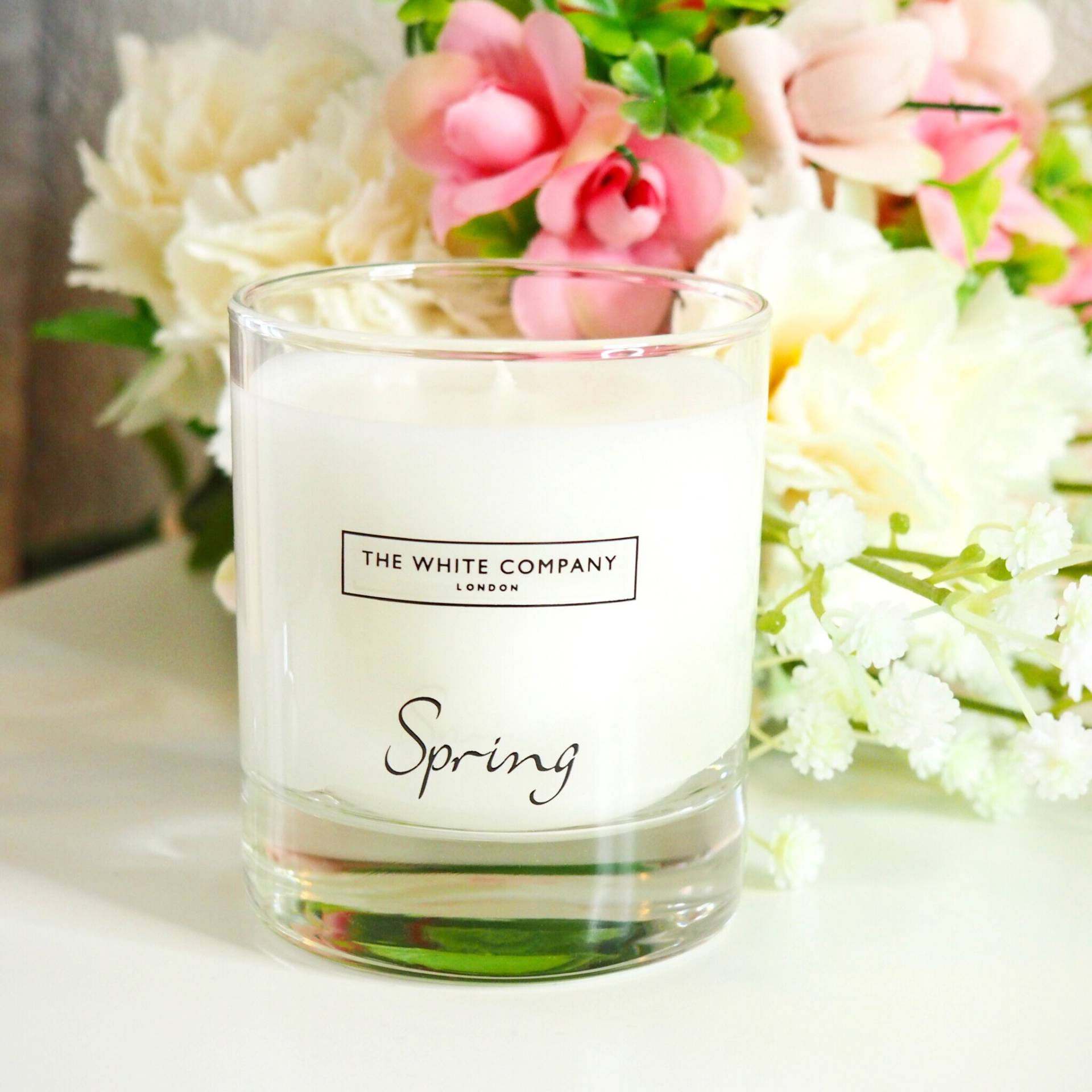 The White Company Spring Candle