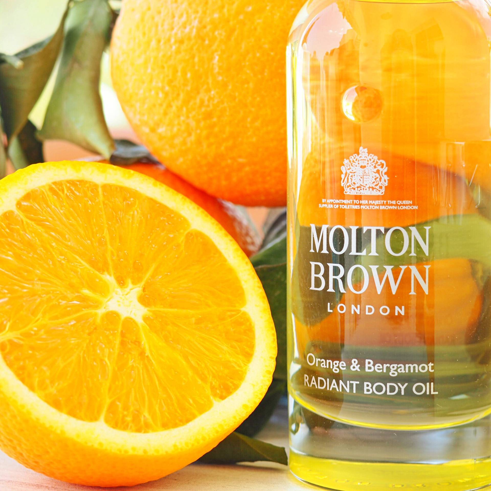 Molton Brown Orange and Bergamot Body Oil