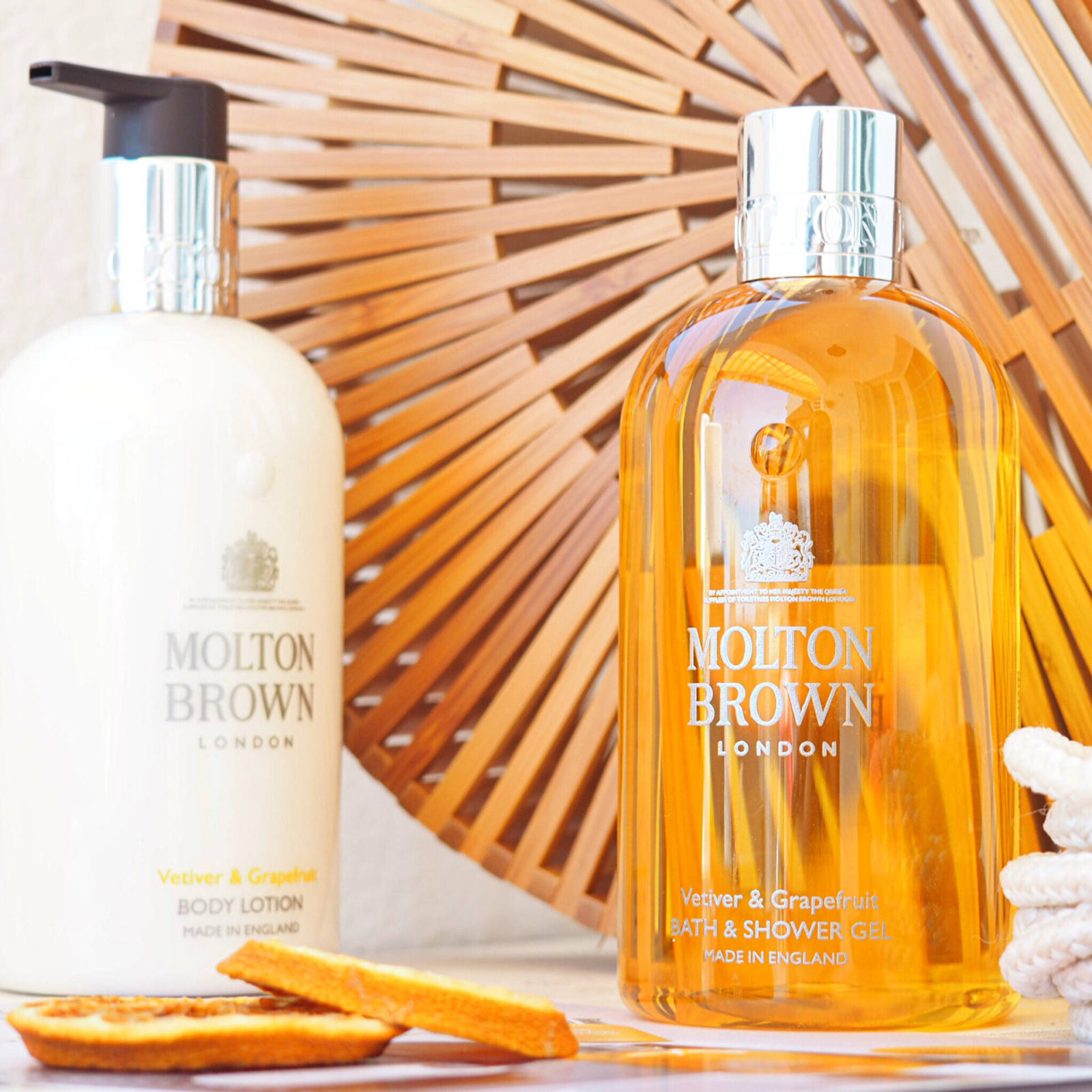 Molton Brown Vetiver and Grapefruit Review