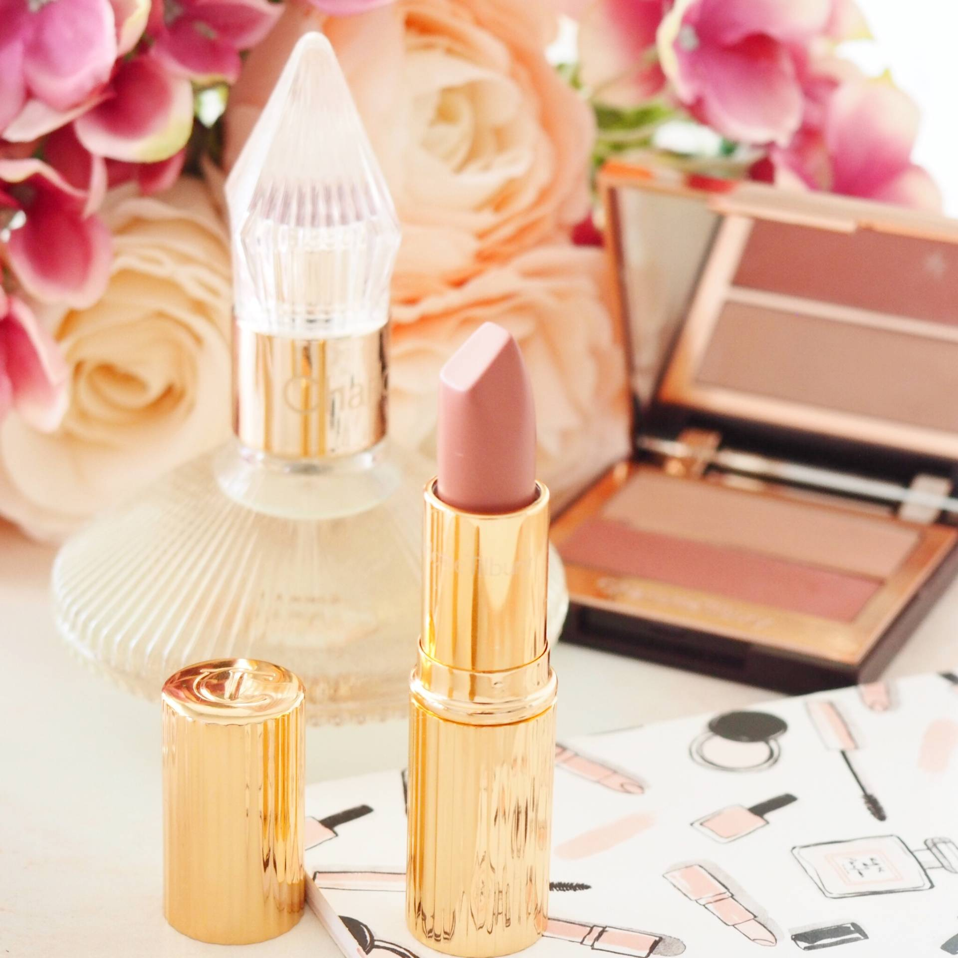 Charlotte Tilbury Miss Kensington Lipstick Review and Swatches