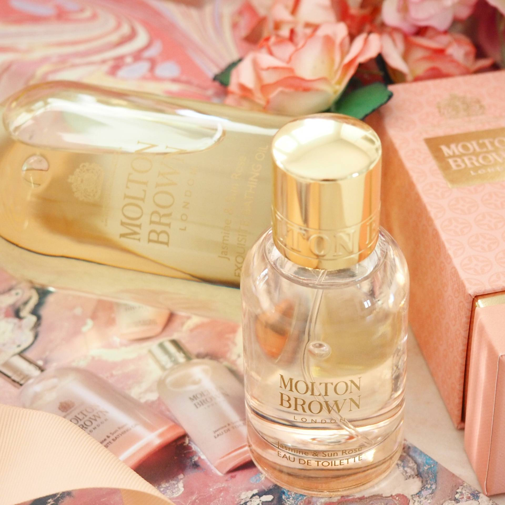 Molton Brown New Jasmine and Sun Rose