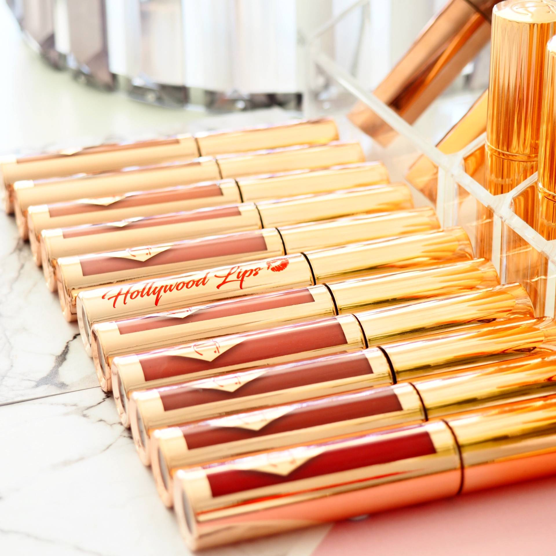 Charlotte Tilbury Hollywood Lips Collection with Swatches