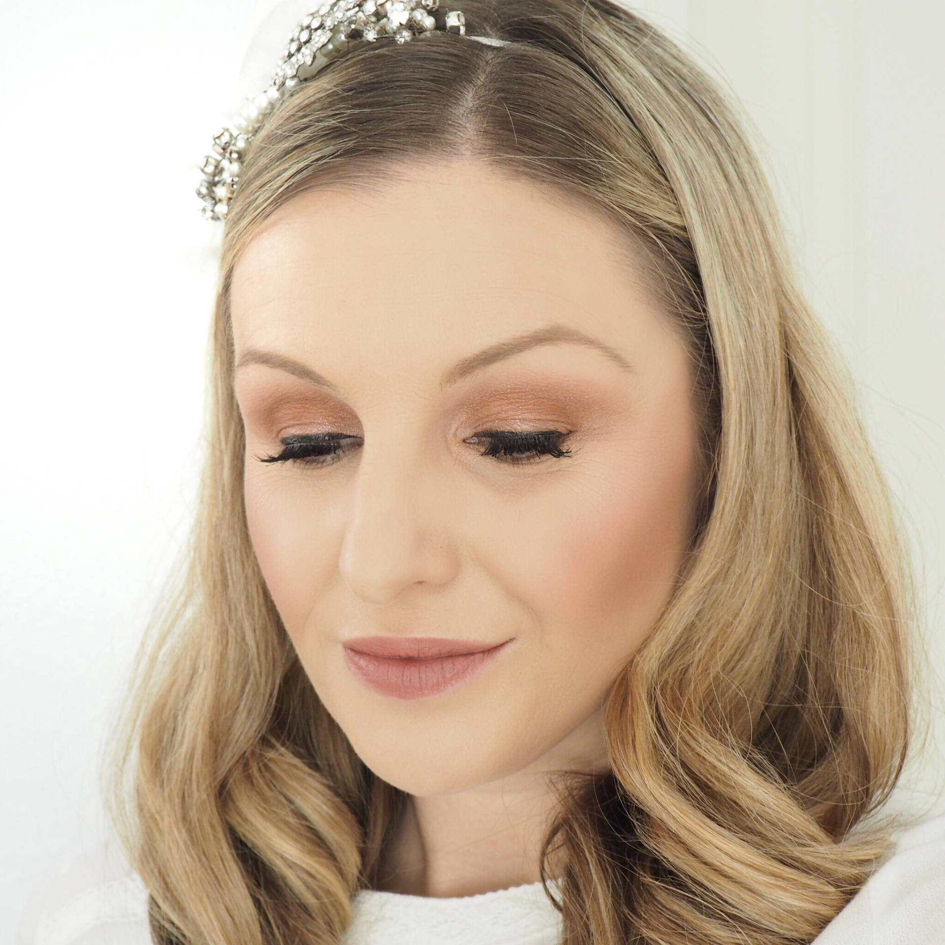 Charlotte Tilbury Pillow Talk Collection Bridal Makeup Look