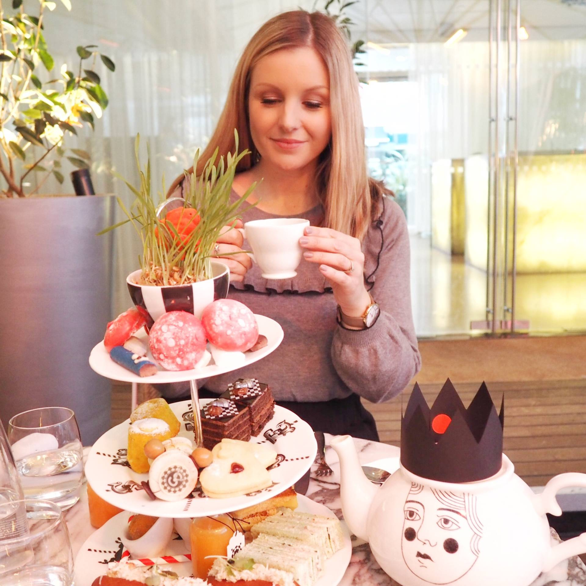 Mad Hatters Afternoon Tea at the Sanderson Hotel, London – Review