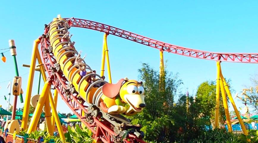 Slinky Dog Dash Walt Disney World
