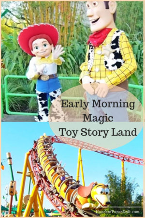 Toy Story Land Early Morning Magic WDW