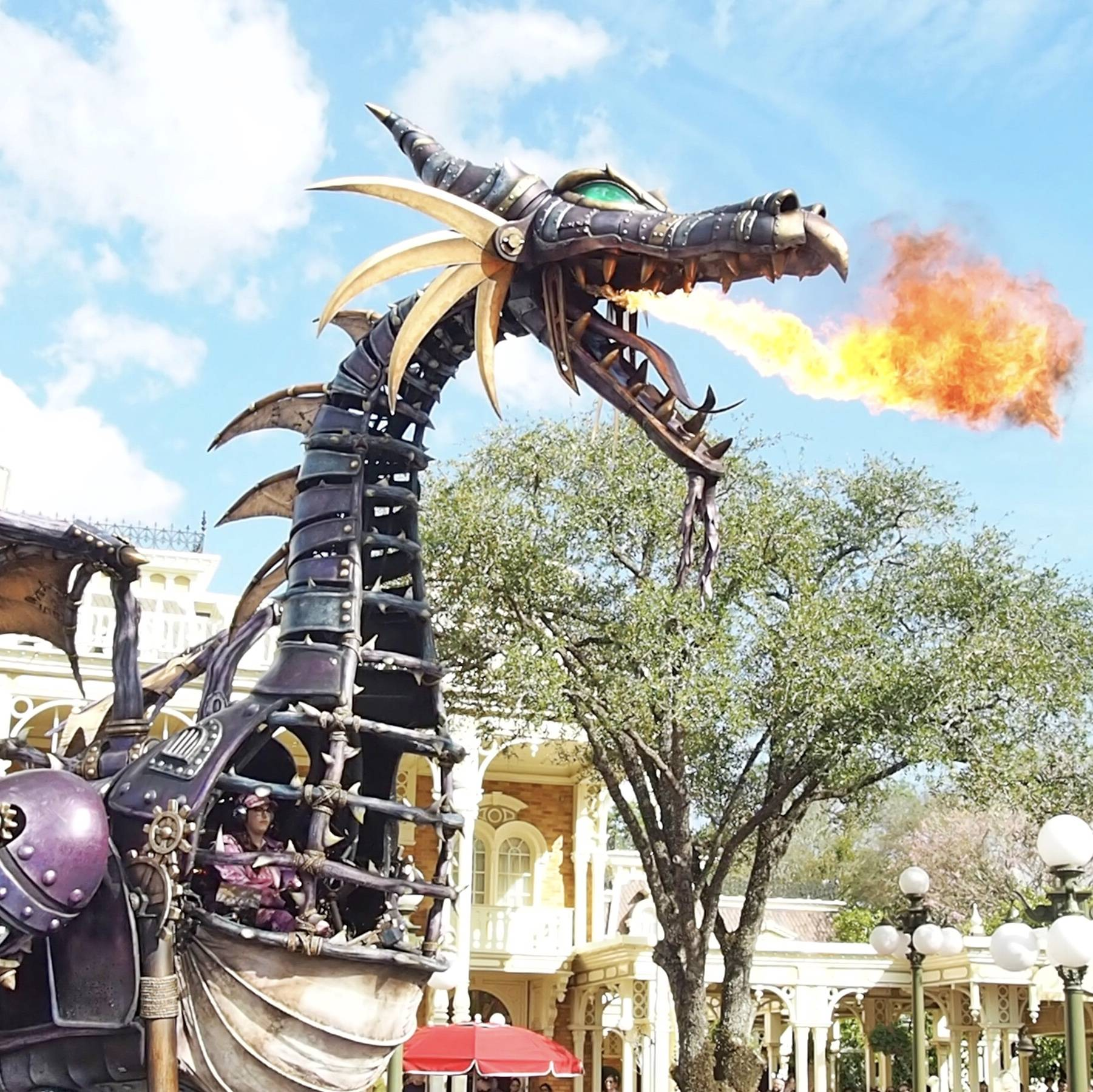 WDW Festival of Fantasy Parade Viewing and Dining Package Review