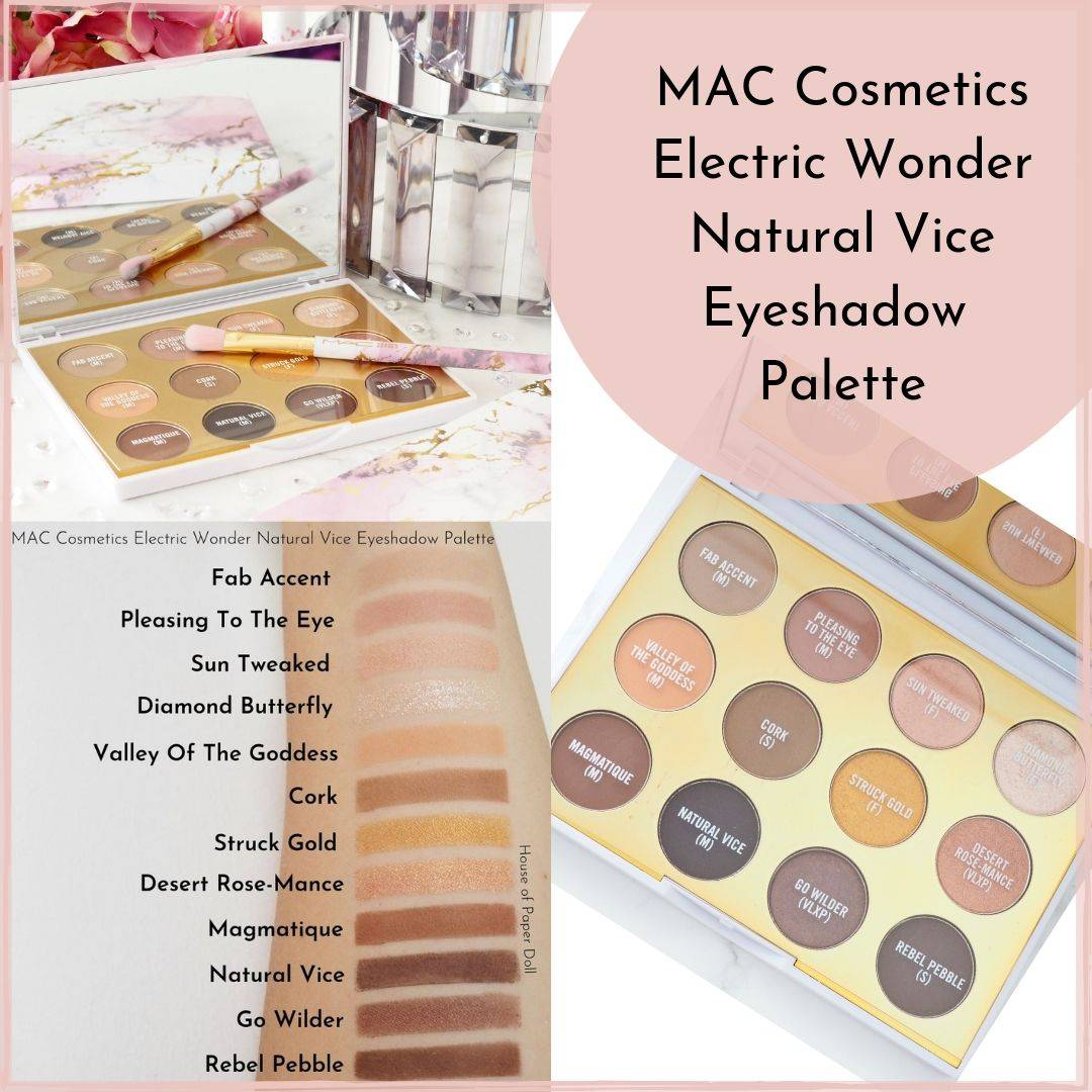 MAC Cosmetics Electric Wonder Natural Vice Eyeshadow Palette