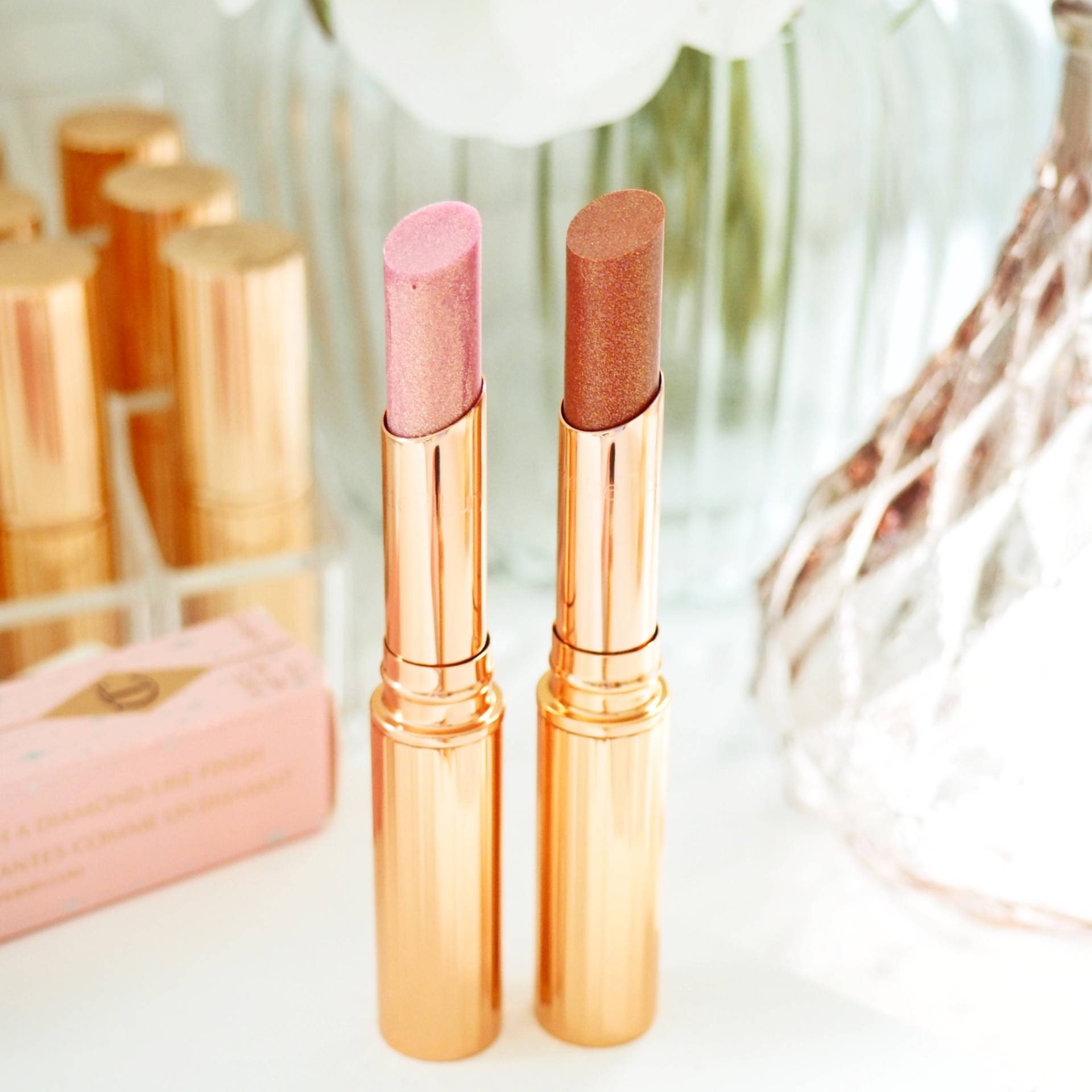 Charlotte Tilbury Pillow Talk Diamonds Lipsticks