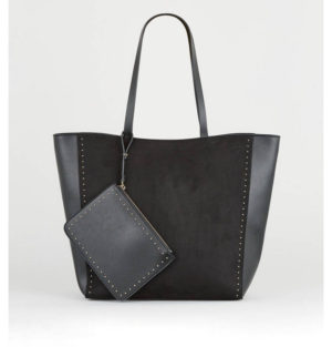 New Look Black Tote Bag