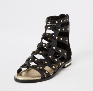 Black River Island Gladiator Sandals