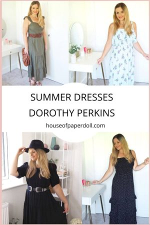 Dorothy Perkins Summer Dresses Haul