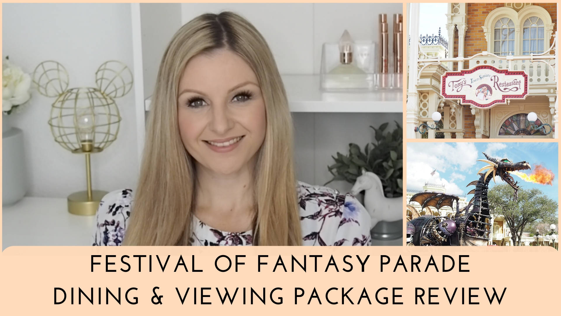 Festival of Fantasy Parade Dining Package